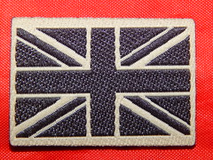 Desert union jack flag (militaria collector) Tags: unionjack unionjackflag britisharmy desert desertpatch greatbritain unitedkingdon britisharmypatches