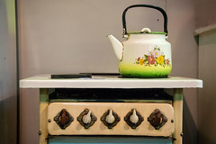 Once upon a time... (Gianna Fou.) Tags: tea teapot green blue retro oldfashioned