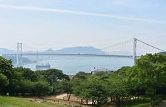 JAPON SHIMONOSEKI Kanmon Bridge (jacgroumo) Tags: japon shimonoseki kanmon bridge honshu island kyushu