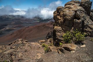 Rim of Haleakala Volcano