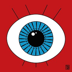 1984 (Yele Maria) Tags: orwell georgeorwell 1984 tribute illustrazionedigitale illustrazione illustration digitalillustration vector vectorillustration eye cosh acab fourcolors fltadesign graphicdesign