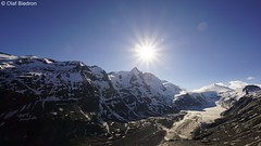 DSC07454 (Olaf Biedron) Tags: alpen grosglockner grossglockner sonne sonnenstrahlen sun gletscher glacier ледник pasterze
