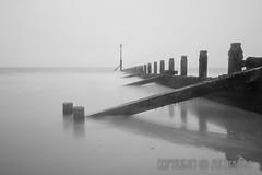 Misty Hornsea Groyne (ArtyAnge) Tags: hornsea hull artyangephotography eastridingofyorkshire groyne landscape misty mistywater sandandsea sea seascape soggybeachday weather