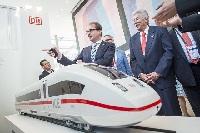 The way to go: the Deutsche Bahn ICE train