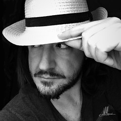 Giovanni Muscarà (giovanni.muscara28) Tags: fotografia photography io me je yo lifestyle freedom good cool blackandwhite pic relax beard barba biancoenero blackwhite moda hat panama look giovannimuscarà
