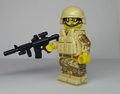 Boots on the Ground! - BrickArms M4-TAC (enigmabadger) Tags: brickarms lego custom minifig minifigure fig weapon weapons accessory accessories combat war modern battle