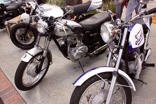 Ducati + 2 Triumphs