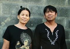 fashionable couple (the foreign photographer - ฝรั่งถ่) Tags: two adults couple fashionable man wife khlong thanon portraits bangkhen bangkok thailand canon kiss