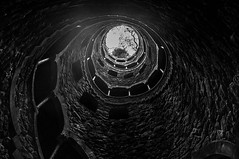 Frail rain (Marco Perico .) Tags: rain structure hole rock stairs portugal villa drop cloudy gorgeous dainty frail bw black white palace ground earth magic beautiful place lisbon photo photography nikon