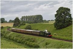 7802 Bradley Manor descending Eardington Bank, Severn Valley Railway (Keith Halton) Tags: svr severnvalleyrailway bridgnorth eardington gwr steam railway shropshire