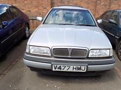 1999 ROVER 825 STERLING 2497cc V477HMJ (Midlands Vehicle Photographer.) Tags: 1999 rover 825 sterling 2497cc v477hmj