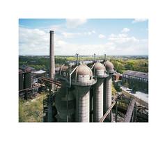 Duisburg (ha*voc) Tags: mamiya7ii 43mm rangefinder mediumformat 120 6x7 film kodakportra160 urban industrial industrialdecay landschaftspark duisburgnord germany ruhrgebiet