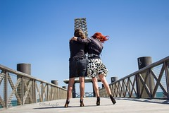 duo précieux 2 (normamisslegs) Tags: frenchgirl frenchstyle plage mer ciel bleu sud soleil girls sexylegs glamour france bas nylon stockings nylonstrümpfe nylonstockings complices allure élégance femmes françaises charme paysage horizon