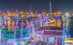 Light show in Ventura Harbor (MrSaha) Tags: light show ventura harbor nikon d52000 dslr panaromic tall wide nature landscape manual earth top bright dim shadow around view look travel happy life lively adventure globe world lonely peace peaceful calm quiet moment sharp clear soft beautiful capture red blue green color colors vivid vibrant legend dark night nightlight evening lowlight long exposure town busy lake water river pond reflection stream wet flow ocean market bar boat ship