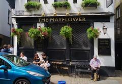 Mayflower pub, Rotherhithe, London, May 2017 (sbally1) Tags: mayflowerpub mayflower rotherhithe london citylife londonpub britishpub