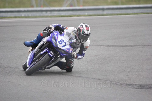 Angelo Licciardi in World Supersport 300 at Donington Park, May 2017