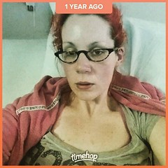 PSA: this is what dying from sepsis (due to gastric leaks aka holes in stomach or small intestine) looks like. I don't remember taking this photo, but I do remember how I felt: hot, cold, in pain, bloated, feverish, delirious (complete with hallucinations (Jenn ♥) Tags: ifttt instagram