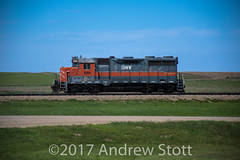 Waiting for it's next job (awstott) Tags: emd gp35 locomotive electromotivedivision 6354 dmvw unity saskatchewan canada ca