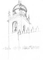 Porto, Cathédrale de Sé (Croctoo) Tags: croctoo croquis croctoofr crayon portugal porto