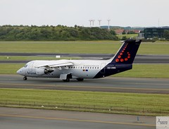 Brussels Airlines RJ100 OO-DWA taxiing at BRU/EBBR (AviationEagle32) Tags: brusselsairport brussels bru brusselszaventem zaventem zaventemairport ebbr belgium airport aircraft airplanes apron aviation aeroplanes avp aviationphotography avgeek aa aviationlovers aviationgeek aeroplane airplane arrivals planespotting planes plane flying flickraviation flight taxiing vehicle tarmac terminal brusselsairlines staralliance bae baesystems bae146 baerj100 avrobae146 avro avrorj100 rj100 bae146300 oodwa departure