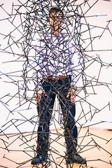 Quantum Sam VIII (Thomas Hawk) Tags: america antonygormley california museum quantumcloudviii sfmoma samgreene sanfrancisco sanfranciscomuseumofmodernart usa unitedstates unitedstatesofamerica artmuseum us fav10 fav25