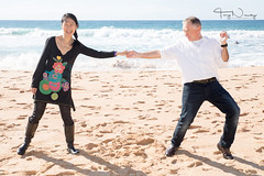 Heather and Stuart (trucnguyen1731) Tags: band beach engagement heather narrabeen party stuart warriewood