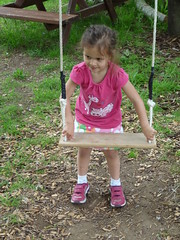 Robyn Ready to Swing (Peter Ashton aka peamasher) Tags: robyn grandchild granddaughter children