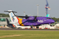 G-CCGS Dornier DO328-110 Logonair (FlyBe Colours) Stansted 20th July 2016 (michael_hibbins) Tags: