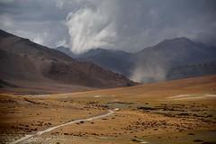 Storm clouds were chasing us, India 2016 (reurinkjan) Tags: india 2016 ©janreurink himachalpradesh spiti kinaur ladakh kargil jammuandkashmir tsokar thukje stormyweather himalayamountains himalayamtrange himalayas landscapepicture landscape landscapescenery mountainlandscape