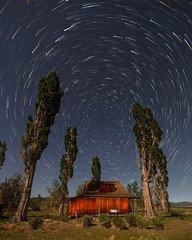 Moonlit Ranch Star Trails (Jeffrey Sullivan) Tags: mono lake committee star trails night landscpape photography workshop eastern sierra monocounty leevining california wildflowers sunset nature travel canon eos 6d photo copyright 2017 june jeff sullivan
