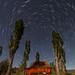 Moonlit Ranch Star Trails