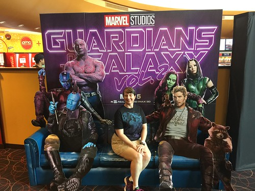 "Tracey with the Guardians of the Galaxy • <a style=""font-size:0.8em;"" href=""http://www.flickr.com/photos/28558260@N04/34364278413/"" target=""_blank"">View on Flickr</a>"