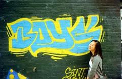 N Spaulding Ave, looking for boys (//sarah) Tags: film minoltasrt100 chicago logansquare spauldingave streetart graffiti boys