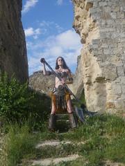 Shooting Skyrim - Ruines d'Allan -2017-06-03- P2090594 (styeb) Tags: shoot shooting skyrim allan ruine village drome montelimar 2017 juin 06 cosplay