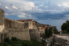 Dubrovnic (anuradhadeacon-varma) Tags: distantrain castle clouds 2016 croatia dubrovnic september september2016