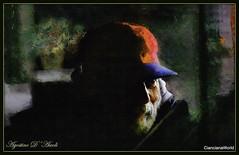 Vecchio con cappello rosso - Maggio-2017 (Agostino D'Ascoli) Tags: art digitalart digitalpainting creative colore fullcolor nikon nikkor cianciana sicilia agostinodascoli impressionismo photoshop photopainting texture