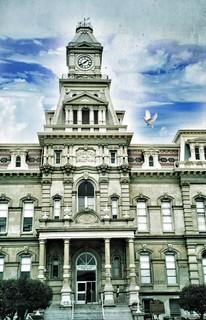 Zanesville  Ohio ~ The Muskingum County Courthouse ~ Historic
