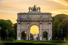 Arc de Triomphe du Carrousel, Paris France (les.butcher) Tags: arc de triomphe du carrousel triumphal arch paris place 1806 1808 commemorate napoleon military luxor obelisk létoile champs élysées france