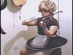 french maid outfit (Perri M Devi) Tags: skirtminiskirthoopskirtcircleskirtsatin frenchmaid apron