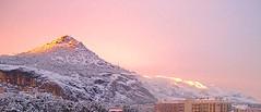 Destellos - Atardecer Nevado. (valorphoto.1) Tags: seleccioónvp paisaje nieve atardecer destellos montaña sunset photodgv