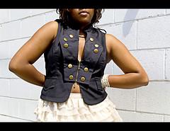 RockStarChic2 (Mahogany Lenz by Michelle MnM) Tags: rockstar chic grungy girl singer savannah designer photographer fashion show lifestyle scad fiun image love skin brown chelcmoriah artistry