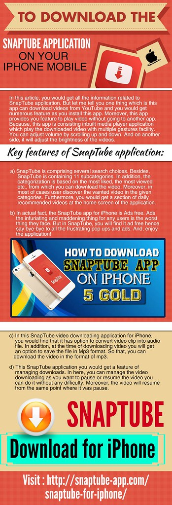 snaptube for iphone 5s