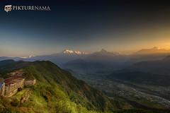 sarangkot- sunrise-21 p logo (anindya0909) Tags: nepal sarangkot sunise sunrise