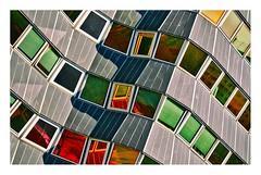 architecture 13e (Marie Hacene) Tags: paris architecture reflets reflection fenêtres windows