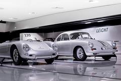 Porsche 550 spyder & 356 (Laurenceoleo) Tags: porsche museum stuttgart germany history car nikon d750 911 918 carrera gt 917 935 gt1 gt2 gt3 919 le mans speedster 356 906 959 993 964 996 997 spyder racing weissach zuffenhausen deutschland