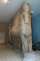 May 10: 88 Lamassu (Aquafortis) Tags: art london england museums assyrian