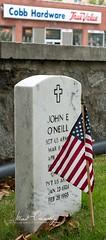 True Value of Memorial Day (4 Pete Seek) Tags: mariettanationalmilitarycemetery mariettageorgia marietta cemetery militarycemetery memorialday2017 headstone flag americanflag