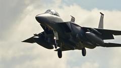 2004 (_J @BRX) Tags: april2017 48thfighterwing 48fw usaf unitedstatesairforce us raflakenheath ln suffolk england uk fighter jet aviation aeroplane airplane usa av f15 mcdonnelldouglas boeing eagle strikeeagle f15e