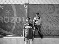 Zaatari refugee camp, Jordan-Syria border. (Federico Verani) Tags: zaatari jordan syrian syria refugees refugeecamp refugeescrisis documentary photography blackwhite biancoenero noiretblanc schwarzweise monocrome blancoynegro people blackandwhite bw portrait middleeast conflict crisis border war