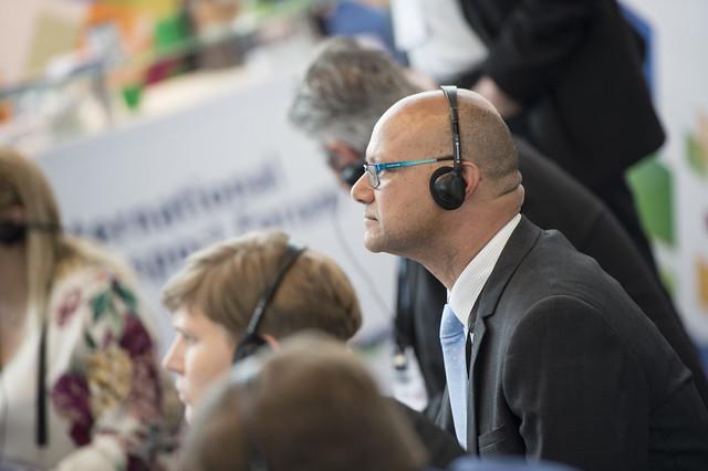 Mario Barreto keenly listening